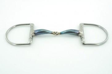 TRUST D-Ring Gebiss einfach gebrochen Jointed