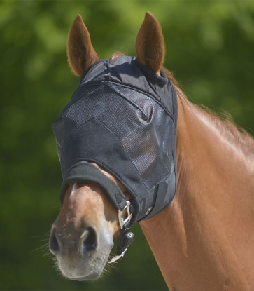 WALDHAUSEN Fliegenmaske Premium UV-Schutz ohne Ohrenschutz