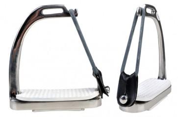HKM Sicherheitssteigbügel aus Edelstahl per Paar