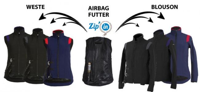 helite air shell weste inkl airbag. Black Bedroom Furniture Sets. Home Design Ideas