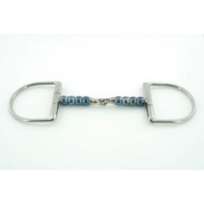 TRUST D-Ring Gebiss einfach gebrochen Jointed Cherry Roller