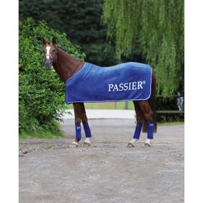 Passier Baumwoll-Dralon® Abschwitzdecke mit Passier Schriftzug