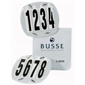 Busse Startnummern 4-stellig